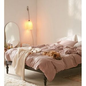 Urban Outfitters Jersey Duvet Cover (Rose)